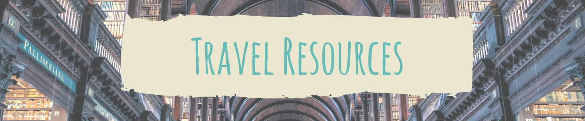 Two Travel The World - Travel Resources